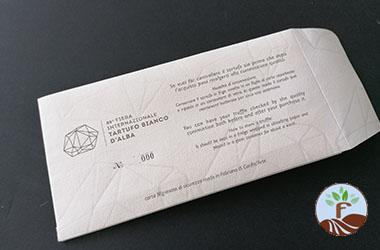 Il Tartufo bianco d'Alba e la carta filigranata di Fabriano fra le novità di rilievo della 89° Fiera Internazionale