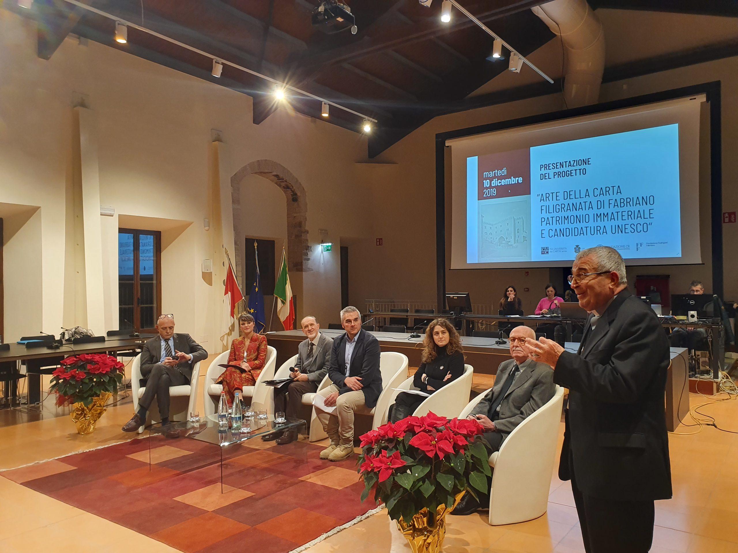 Presentata l'iscrizione dell'Arte della Carta Filigranata di Fabriano nella Lista Rappresentativa del Patrimonio Culturale immateriale dell'Unesco