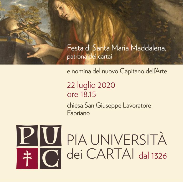 Festa di S.Maria Maddalena 22 luglio 2020